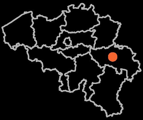 L'agence d'architecture et de décoration d'intérieur de Gaëlle Maire est située à Sprimont, dans la province de Liège, en Belgique